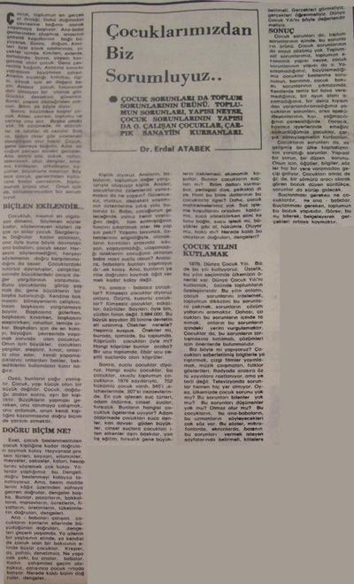 1 Mart  1979 - Cumhuriyet