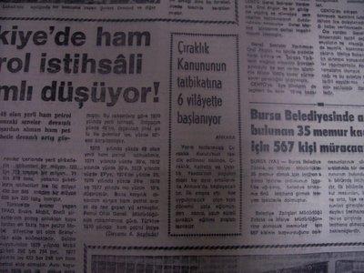 05 Nisan 1979 Perşembe - Turkiye
