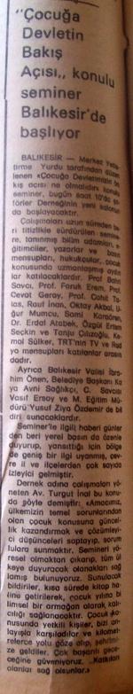 21 Nisan 1979 - Cumhuriyet