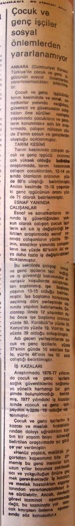 23 Nisan 1979 - Cumhuriyet