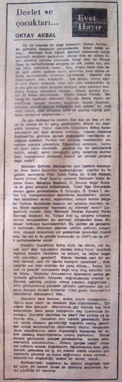 27 Nisan 1979 - Cumhuriyet