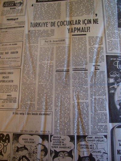30 Nisan 1979 Pazartesi - Milliyet