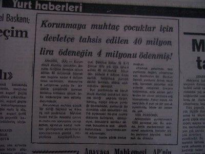 20 Haziran 1979 Çarşamba - Turkiye