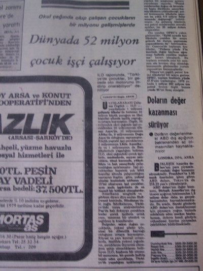 01 Ağustos 1979 Çarşamba - Milliyet