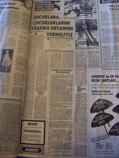 30 Ağustos 1979 Perşembe - Milliyet