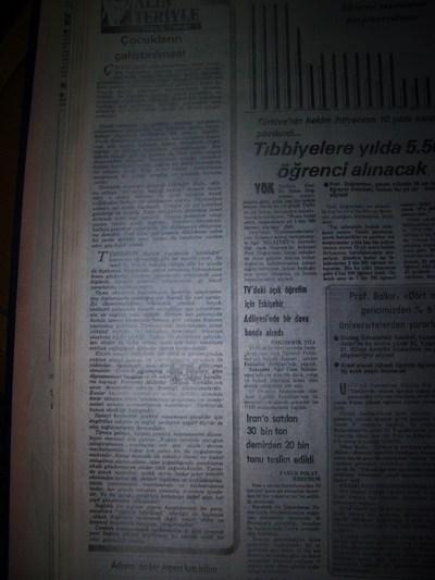 03 Ocak 1983 Pazartesi - Milliyet
