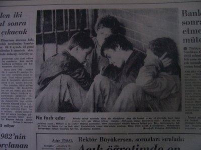 22 Ocak 1983 Cumartesi - Cumhuriyet