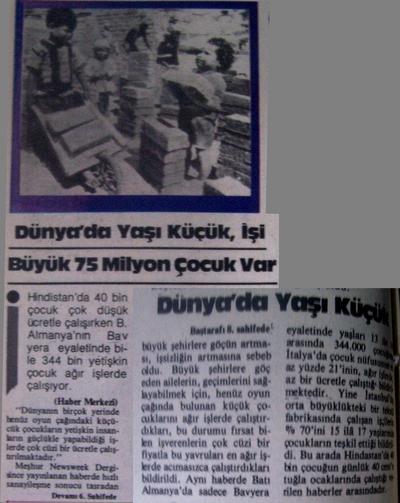 25 Ocak 1983 Salı - Turkiye