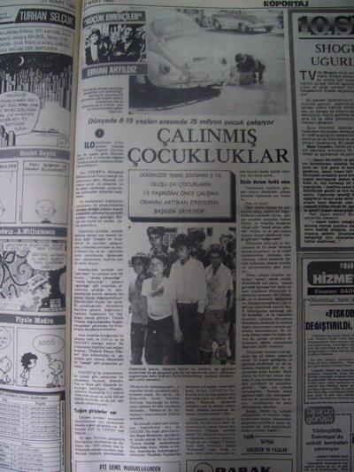 27 Mart 1983 Pazar - Milliyet