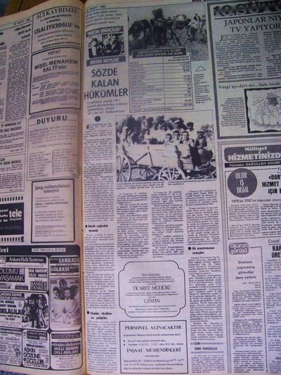 28 Mart 1983 Pazartesi - Milliyet