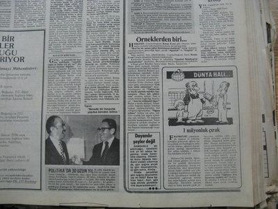 12 Nisan 1983 Salı - Hurriyet