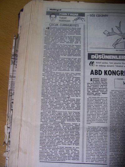 25 Nisan 1983 Pazartesi - Milliyet