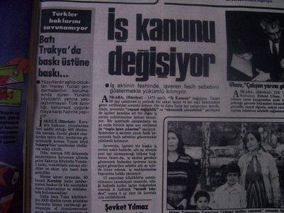 18 Mayıs 1983 Çarşamba - Hurriyet