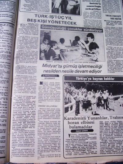18 Temmuz 1983 Pazartesi - Milliyet