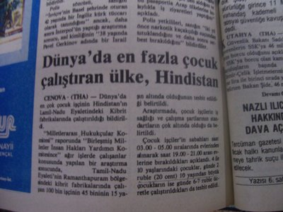 22 Ağustos 1983 Pazartesi - Turkiye
