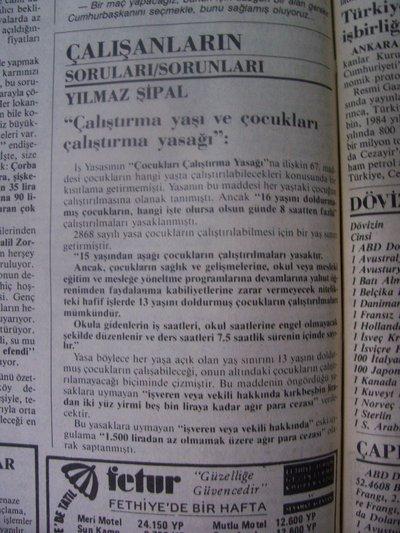 24 Ağustos 1983 Çarşamba - Cumhuriyet