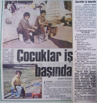 15 Ekim 1983 Cumartesi - Turkiye