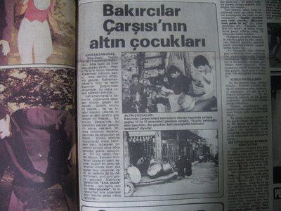 12 Kasım 1983 Cumartesi - Hurriyet