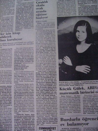 07 Aralık 1983 Çarşamba - Cumhuriyet