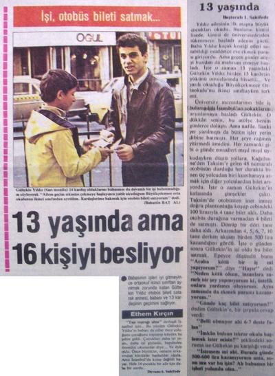 26 Aralık 1983 Pazartesi - Turkiye