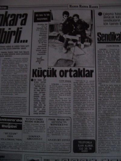 03 Şubat 1988 Çarşamba - Turkiye2