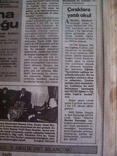 17 Mart 1988 Perşembe - Hurriyet