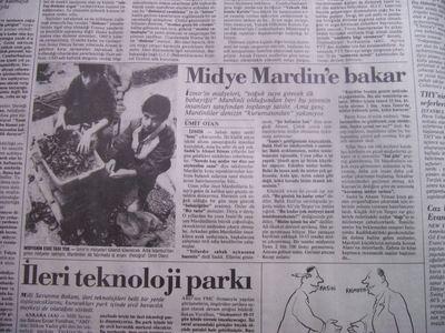 23 Mart 1988 Çarşamba - Cumhuriyet
