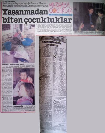 25 Nisan 1988 Pazartesi - Hurriyet