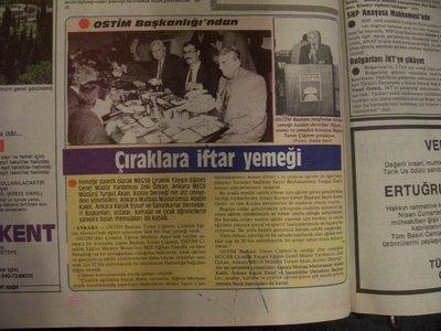 30 Nisan 1988 Cumartesi - Turkiye