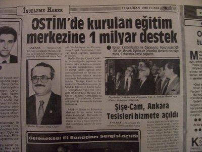 03 Haziran 1988 Cuma - Turkiye