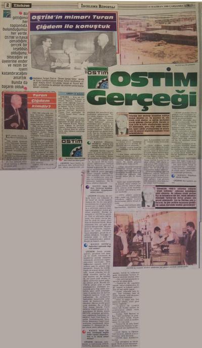 15 Haziran 1988 Çarşamba - Turkiye