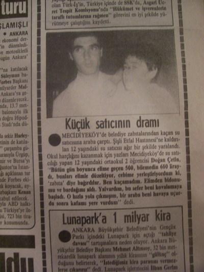 01 Ağustos 1988 Pazartesi - Milliyet