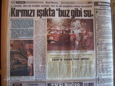 05 Ağustos 1988 Cuma - Turkiye