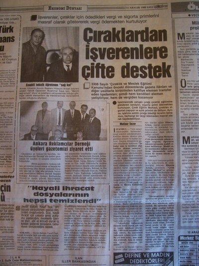 13 Aralık 1988 Salı - Turkiye
