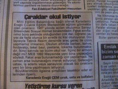 10 Mart 1993 Çarşamba - Turkiye