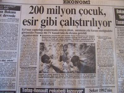 12 Mart 1993 Cuma - Turkiye