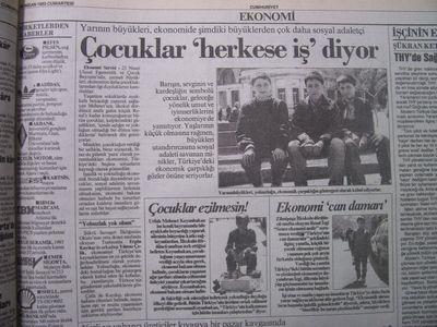 24 Nisan 1993 Cumartesi - Cumhuriyet