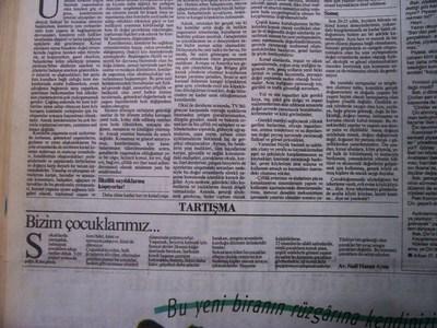 13 Mayıs 1993 Perşembe - Cumhuriyet