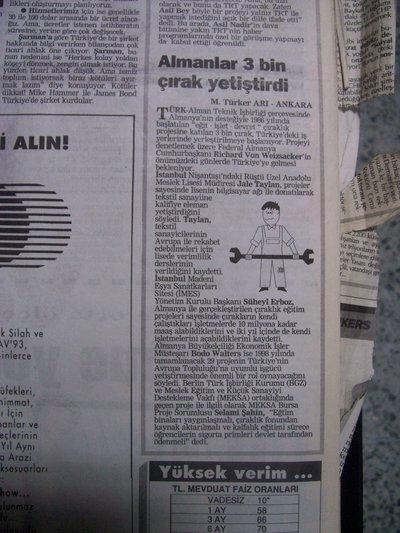 05 Ekim 1993 Salı - Milliyet