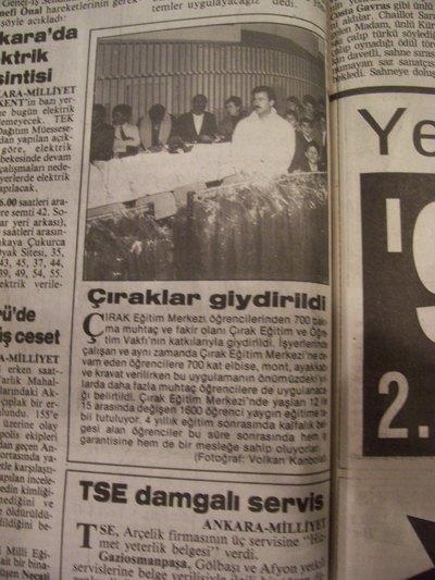 03 Aralık 1993 Cuma - Milliyet