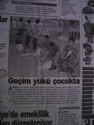 01 Ocak 1998 Perşembe - Turkiye