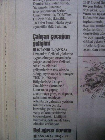 24 Şubat 1998 Salı - Cumhuriyet