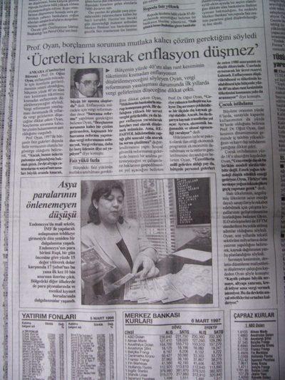 06 Mart 1998 Cuma - Cumhuriyet