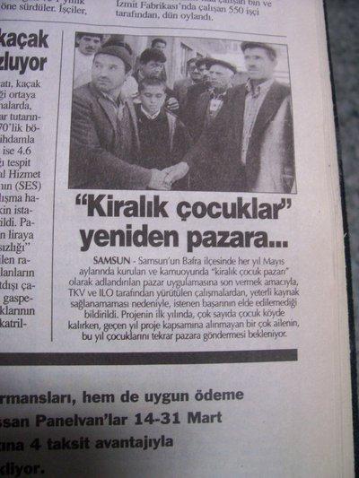 21 Mart 1998 Cumartesi - Turkiye