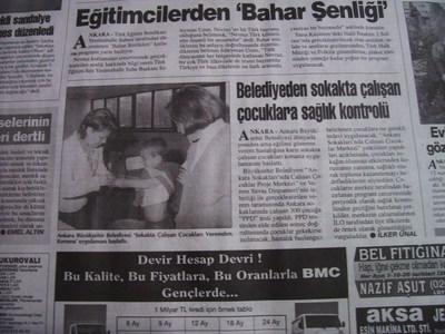26 Mart 1998 Perşembe - Turkiye