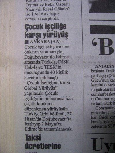 17 Nisan 1998 Cuma - Cumhuriyet