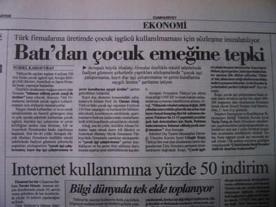18 Nisan 1998 Cumartesi - Cumhuriyet