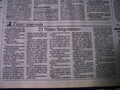 24 Nisan 1998 Cuma - Cumhuriyet