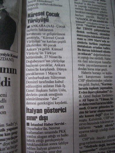 30 Nisan 1998 Perşembe - Cumhuriyet