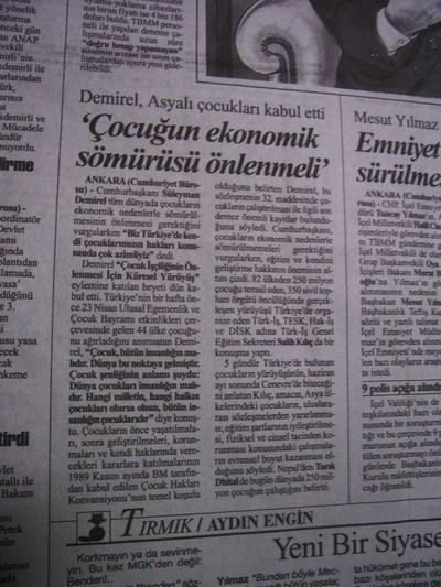 02 Mayıs 1998 Cumartesi - Cumhuriyet